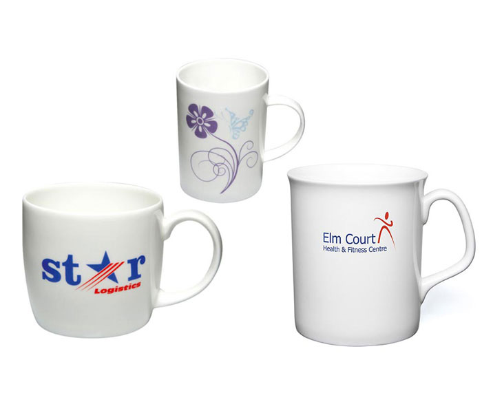 Custom Bone China Mugs