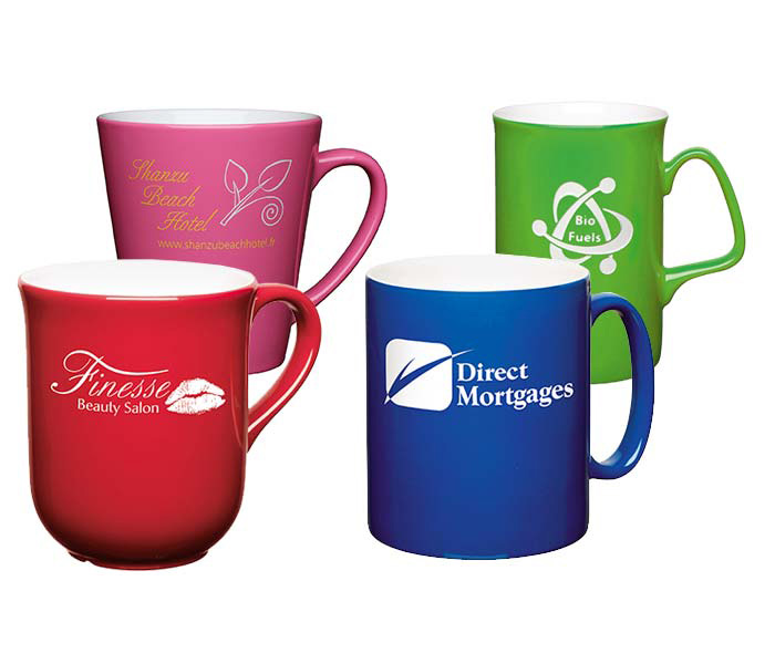 Custom ColourCoat Mugs