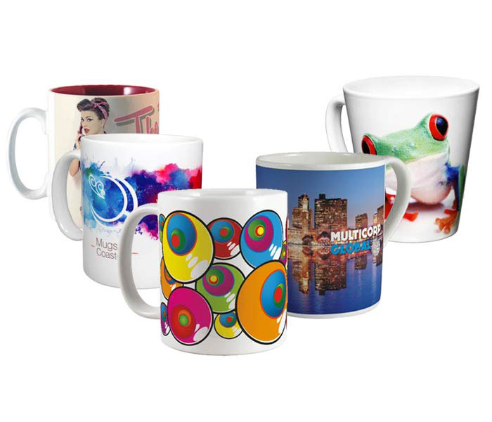 Custom Photo Mugs - Full Colour Mugs