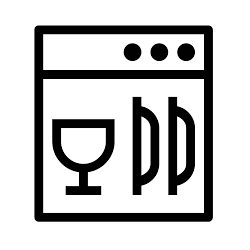 Dishwasher Safe Icon