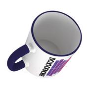 Mug Showing Contrasting Coloured Handle