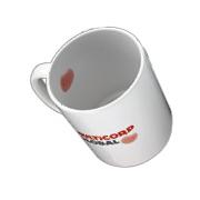 Mug Showing an Inner Decal