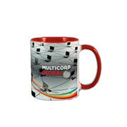 Mug Showing Two Tone Finish