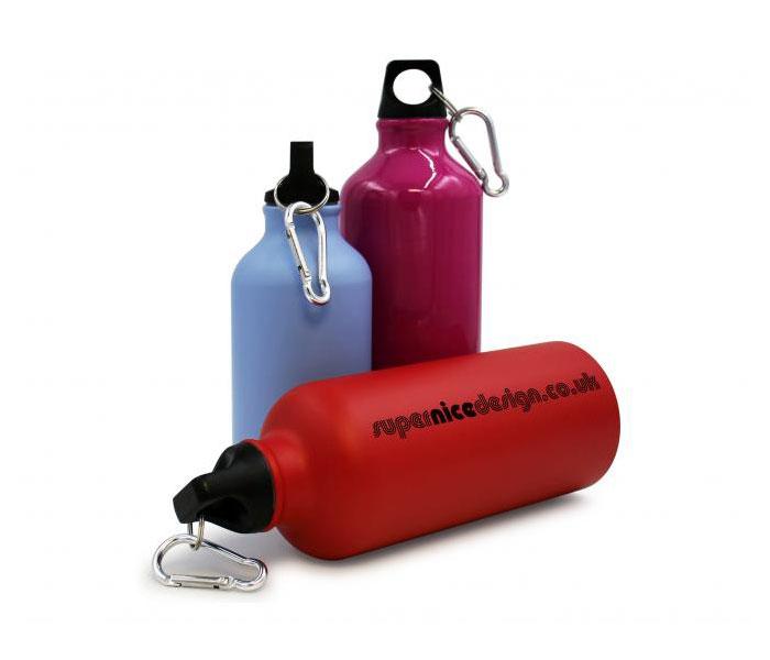 400ml ColourCoat Aluminium Sports Bottle