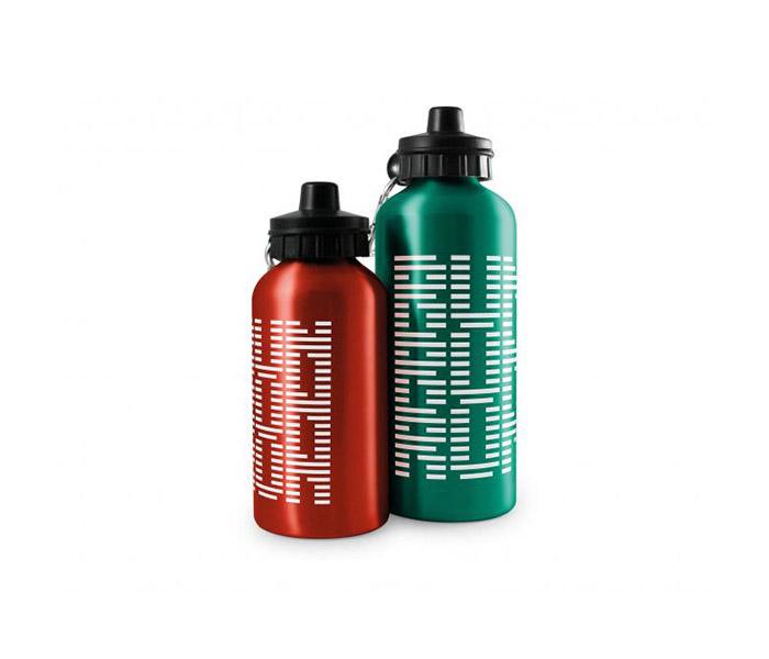 400ml ColourTint Aluminium Sports Bottle