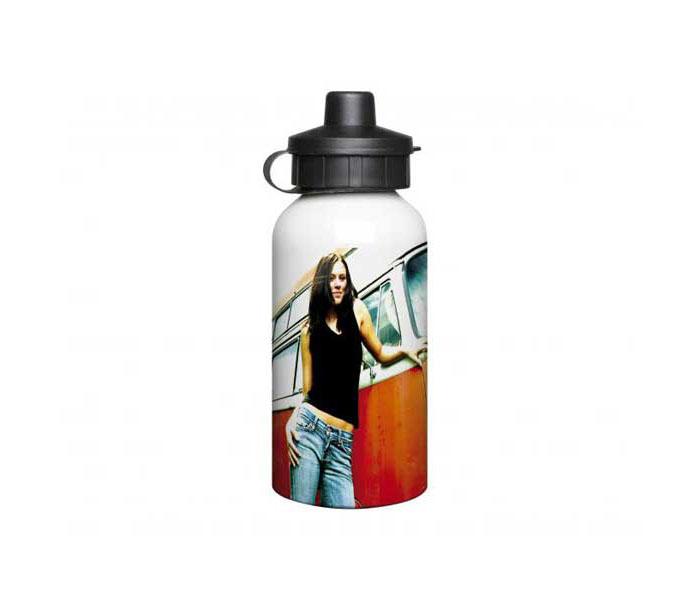 White Aluminium Water Bottle