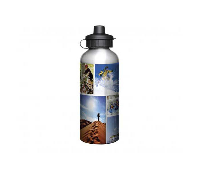 600ml Full Colour Aluminium Sports Bottle