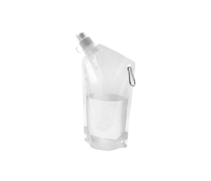 Clear Cabo Foldable Water Bottle