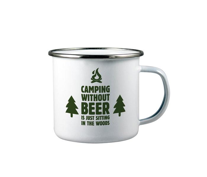 Enamel Printed Mug