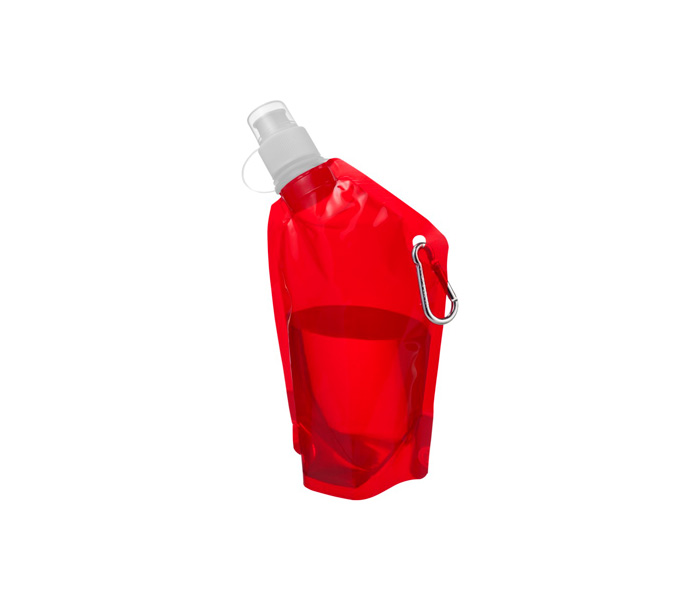 Red Cabo Foldable Sports Bottle