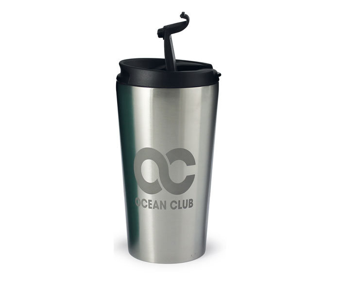 Rio Etched Travel Mug