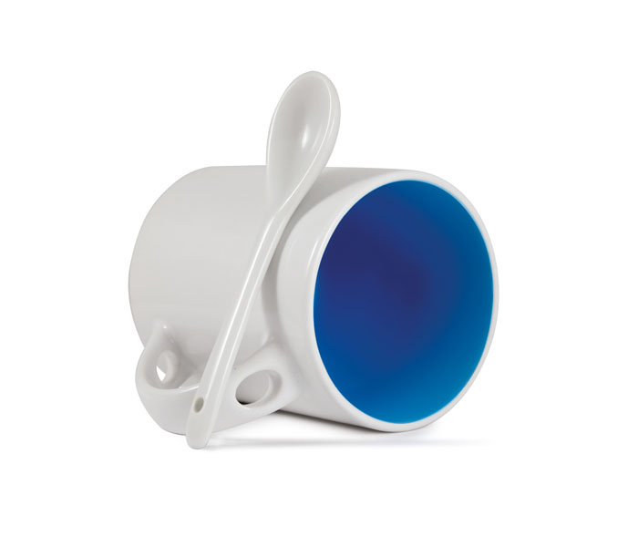 Spoon Inner ColourCoat Mug