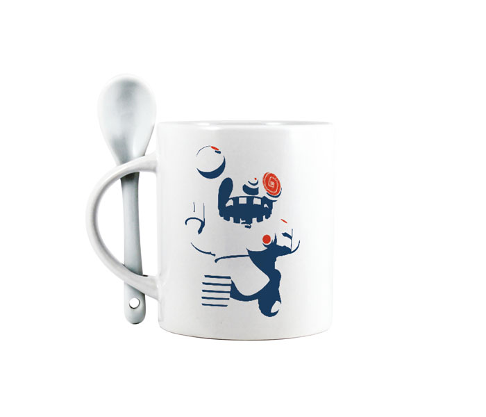 Spoon Printed Mug